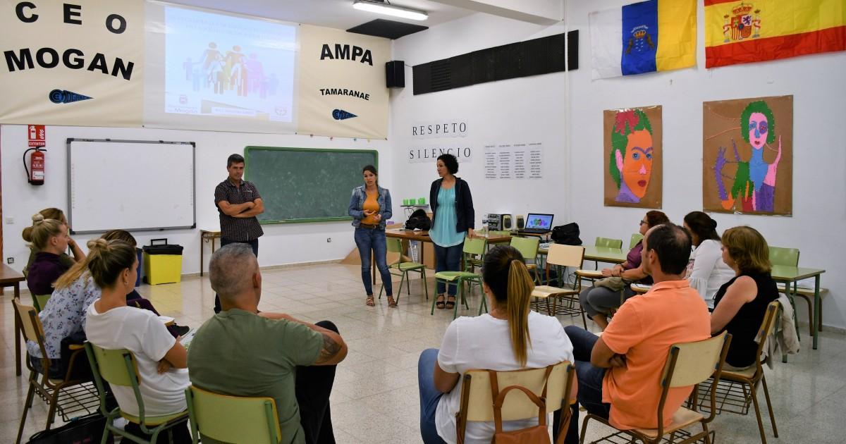 Regresan los programas de Mogán para ayudar a gestionar la educación en el hogar