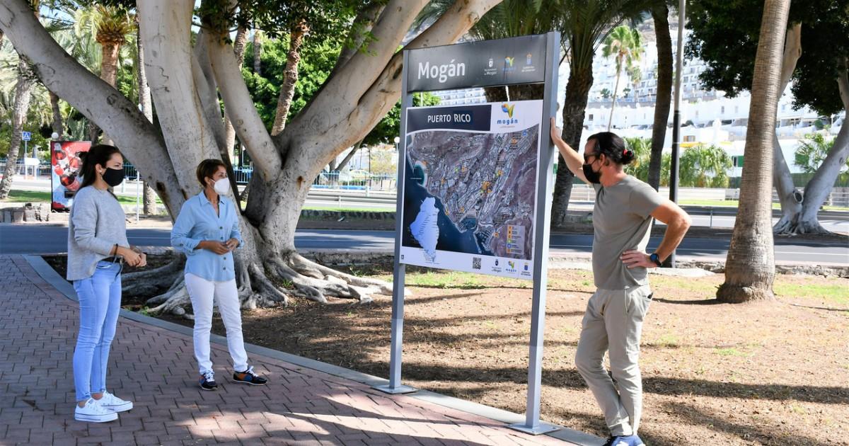 El Ayuntamiento de Mogán refuerza  la señalética turística