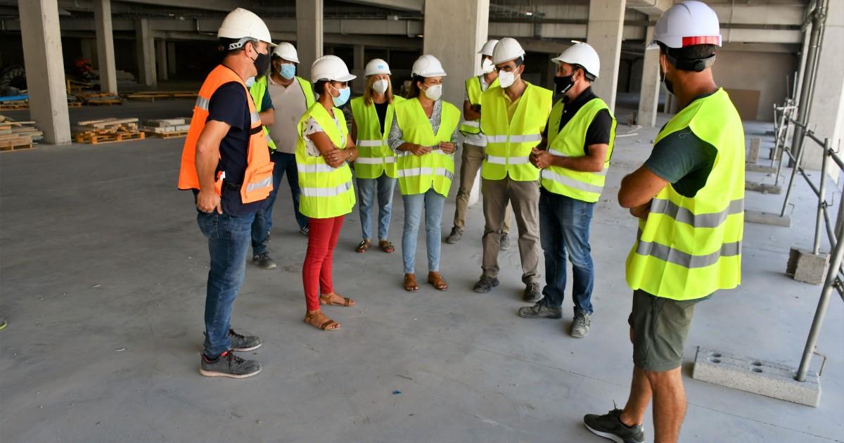 Cuenta atrás para la terminación de las obras del edificio de aparcamientos de Arguineguín