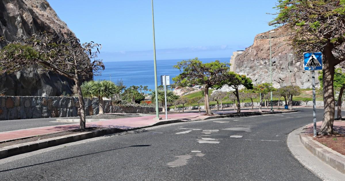 Mogán adjudica los trabajos  de asfaltado en Amadores
