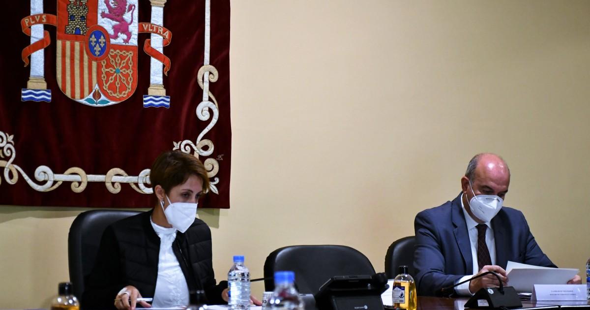 La alcaldesa de Mogán reclama al ministro Marlaska refuerzos policiales equitativos  para garantizar la seguridad