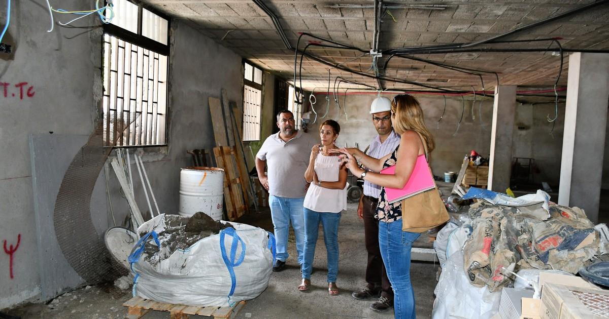 Mogán acondiciona como local social  un antiguo almacén municipal